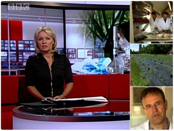 Organic-PLUS on BBC Midlands today 06-06-18
