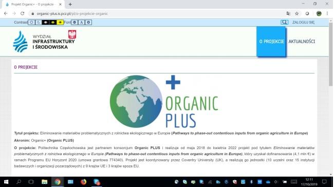 O+ Polish website